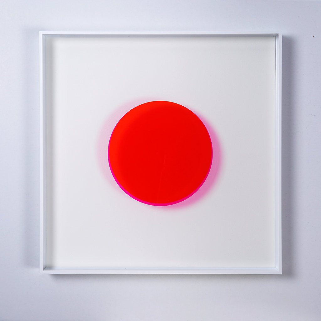 Man Made Object Series – Magenta/Yellow